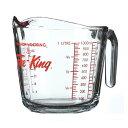【アンカーホッキング】Fire King(ファイヤーキング)耐熱ガラスのメジャーカップ 1000cc
