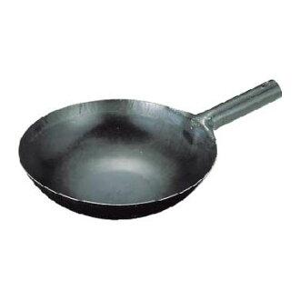 山田實驗室、 研究所鐵 repousse 33 釐米炒鍋用一隻手 (1.2 毫米)