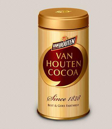バンホーテン ピュアココア 400g×2本 Van Houten Cocoa