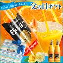 父の日ラッピング【加藤柑橘園】青島みかんジュース『極しぼり』2本セット