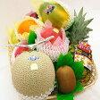 フルーツてんこ盛りデラックス(約6.5キロ)【果物】【詰め合わせ】【内祝】【お見舞い】【かご盛り】【お供え】【法事】