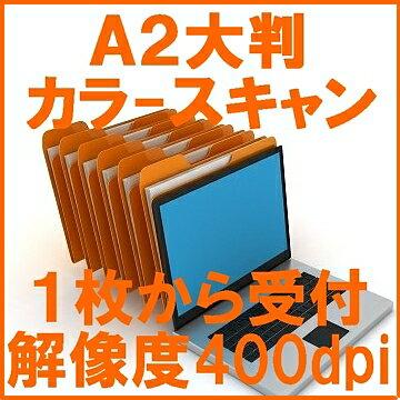 スキャナー A2 大判 大型 カラー スキャニング サービス JPG
