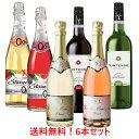 6本まとめて割引販売【送料無料 沖縄除く】大人気のノンアルコールワインが各種詰まった6本セット <デュク&ロゼ&ベリー&ピーチ&メルロー&シャルドネ>