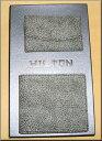 セール50%OFF 【送料無料】HILTONイタリアデザイン象形革二つ折財布、キーケース2点セット【ポイント3倍】