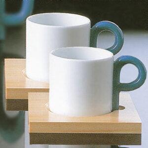 白山陶器P型コーヒーカップ&ソーサーペアセット