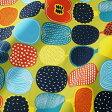 マリメッコ marimekko ファブリック生地 コンポッティ (601 グリーン×マルチカラー) 10cm単位カット販売 065779 601 Cotton fabric KOMPOTTI 02P03Dec16