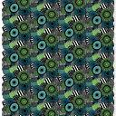 マリメッコ marimekko ファブリック生地 ピエニシイルトラプータルハ (160 ホワイト×グリーン×ブラック) 10cm単位カット販売 067914 1...