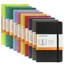 モレスキン MOLESKINE クラシック ノートブック ルールド(横罫)ポケット ハードカバー / 9.0x14.0cm(8色) CLASSIC NOTEBOOKS HARD ..
