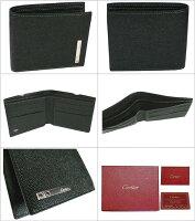 カルティエ財布サントスCartier二つ折り財布(小銭入れ無し)L3000773