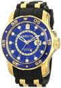 インヴィクタ インビクタ プロダイバー 腕時計 メンズ 6993 Invicta Men's 6993 Pro Diver Collection GMT Blue Dial Black Polyurethane Watchインヴィクタ インビクタ プロダイバー 腕時計 メンズ 6993