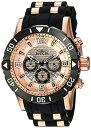 インヴィクタ インビクタ プロダイバー 腕時計 メンズ 23711 【送料無料】Invicta Men 039 s Pro Diver Stainless Steel Quartz Diving Watch with Polyurethane Strap, Black, 26 (Model: 23711)インヴィクタ インビクタ プロダイバー 腕時計 メンズ 23711