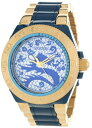 インヴィクタ インビクタ サブアクア 腕時計 メンズ 11549 【送料無料】Invicta Men's 11549 Subaqua Sport Blue Dragon Dial 18k Gold Ion-Plated Stainless Steel and Blue Resin Watchインヴィクタ インビクタ サブアクア 腕時計 メンズ 11549