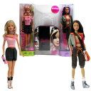 バービー バービー人形 日本未発売 Mattel Year 2006 Barbie FASHION FEVER Series Bonus Pack 12 Inch Tall Doll Set - BARBIE in Pin..
