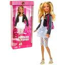 バービー バービー人形 日本未発売 Mattel Year 2006 Barbie Fashion Fever Series 12 Inch Tall Doll Set - Smart, Stylis