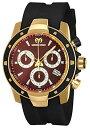 テクノマリーン 腕時計 メンズ TM-615005 Technomarine TM-615005 Men's UF6 Black & Gold Swiss Watchテクノマリーン 腕時計 メンズ TM-615005