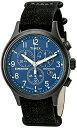 タイメックス 腕時計 メンズ TW4B04200 Timex Men's Expedition TW4B04200 Black Leather Quartz Watchタイメックス 腕時計 メンズ TW4B04200