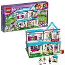 ショッピングレゴフレンズ レゴ フレンズ 6174678 【送料無料】LEGO Friends Stephanie's House 41314 Build and Play Toy House with Mini Dolls, Dollhouse Kit (622 Pieces)レゴ フレンズ 6174678