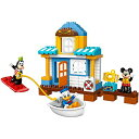 レゴ デュプロ 6136818 【送料無料】LEGO DUPLO Disney Junior Mickey & Friends Beach House, Preschool, Pre-Kindergarten Large Building Block Toys for Toddlersレゴ デュプロ 6136818