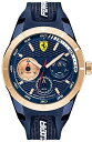 б┌┼Ў┼╣1╟п╩▌╛┌б█е╒езещб╝еъFerrari Red Rev T Men's Quartz Watch 830379