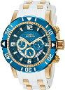 インヴィクタ インビクタ プロダイバー 腕時計 メンズ 23707 【送料無料】Invicta Men 039 s Pro Diver Stainless Steel Quartz Diving Watch with Polyurethane Strap, Two Tone, 24 (Model: 23707)インヴィクタ インビクタ プロダイバー 腕時計 メンズ 23707