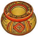 灰皿 海外モデル アメリカ 輸入物 【送料無料】Ceramic Ashtrays Moroccan Hand Made Smokeless Small灰皿 海外モデル アメリカ 輸入物