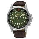 セイコー 腕時計 メンズ SRPA77K1 Seiko Men's Prospex 42mm Brown Leather Band Steel Case Hardlex Crystal Automatic Green Dial Watch SRPA77セイコー 腕時計 メンズ SRPA77K1