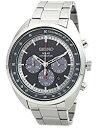 セイコー 腕時計 メンズ SSC621P1 SEIKO Solar Chronograph Steel Watch Black Dial SSC621P1セイコー 腕時計 メンズ SSC621P1