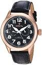 インヴィクタ インビクタ 腕時計 メンズ 11742 Invicta Men's 11742 Vintage Master Rose Gold-Tone Stainless Steel Watch with Black Leather Bandインヴィクタ インビクタ 腕時計 メンズ 11742