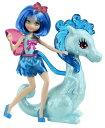 バービー バービー人形 ファンタジー 人魚 マーメイド V6942 Barbie Princess Charm School Princess Assistant Blue Fairy And Dragonバービー バービー人形 ファンタジー 人魚 マーメイド V6942