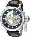 インヴィクタ インビクタ 腕時計 メンズ 24593 【送料無料】Invicta Men 039 s Russian Diver Stainless Steel Automatic-self-Wind Watch with Leather Calfskin Strap, Black, 1.1 (Model: 24593)インヴィクタ インビクタ 腕時計 メンズ 24593