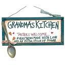 壁飾り インテリア タペストリー 壁掛けオブジェ 海外デザイン 22911 Ohio Wholesale Grandma's Kitchen Sign from Our Grandparents Collection壁飾り インテリア タペストリー 壁掛けオブジェ 海外デザイン 22911