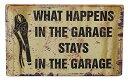 壁飾り インテリア タペストリー 壁掛けオブジェ 海外デザイン 31650 Ohio Wholesale What Happens Garage Wall Art, from our Everyday Collection壁飾り インテリア タペストリー 壁掛けオブジェ 海外デザイン 31650