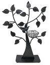 アクセサリスタンド ジュエリー AX-AY-ABHI-51350 【送料無料】Bejeweled DisplayBird Nest Jewelry Tree Earring Holder~Bracelet Stand~Necklace Organizer Jewelry Display (Black)アクセサリスタンド ジュエリー AX-AY-ABHI-51350