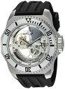 インヴィクタ インビクタ 腕時計 メンズ 【送料無料】Invicta Men's Russian Diver Stainless Steel Automatic Watch with Silicone Strap, Black, 35 (Model: 25611)インヴィクタ インビクタ 腕時計 メンズ