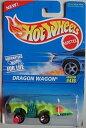 ホットウィール マテル ミニカー ホットウイール HOT WHEELS BLUE AND WHITE CARD DRAGON WAGON #478 NEON GREEN AND GREENホットウィール マテル ミニカー ホットウイール