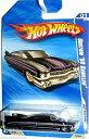 ホットウィール マテル ミニカー ホットウイール 【送料無料】Hot Wheels 2010 159/240 HOT Auction 01/10 Black with Purple Custom '59 Cadillacホットウィール マテル ミニカー ホットウイール