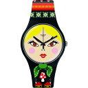 スウォッチ 腕時計 レディース Swatch - Women's Watch SUOB137スウォッチ 腕時計 レディース