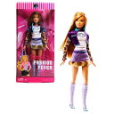 バービー バービー人形 日本未発売 Mattel Year 2007 Barbie FASHION FEVER Series 12 Inch Doll - SUMMER with Leopard Print Long Sl..