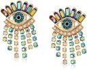 ベッツィ・ジョンソン ピアス アメリカ 日本未発売 ブランド Betsey Johnson Mystic Baroque Queens Colorful Evil Eye and Fringe Stud Earringsベッツィ・ジョンソン ピアス アメリカ 日本未発売 ブランド