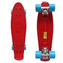 【送料無料】Rimable コンプリート スケートボード レッド 赤 22×6インチ ミニクルーザー