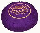 ヨガ フィットネス 【送料無料】Boon Decor Meditation Cushion Zafu Lotus Enlightenment Purpleヨガ フィットネス