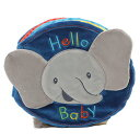 """ガンド ぬいぐるみ リアル お世話 かわいい 【送料無料】Baby GUND Flappy the Elephant Soft Activity Sensory Stimulating Book, 8""""ガンド ぬいぐるみ リアル お世話 かわいい"""