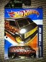 ホットウィール マテル ミニカー ホットウイール 【送料無料】Hot Wheels 2011 Custom '77 Dodge Van with Red/Gold Flames Decal 96/244 Green Lantern Promo Variant 6/10ホットウィール マテル ミニカー ホットウイール