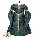"""メリダとおそろしの森 メリダ ブレイブ ディズニープリンセス 【送料無料】Celtic Princess Medieval Dress and Shoes Fits 18"""" Americ.."""
