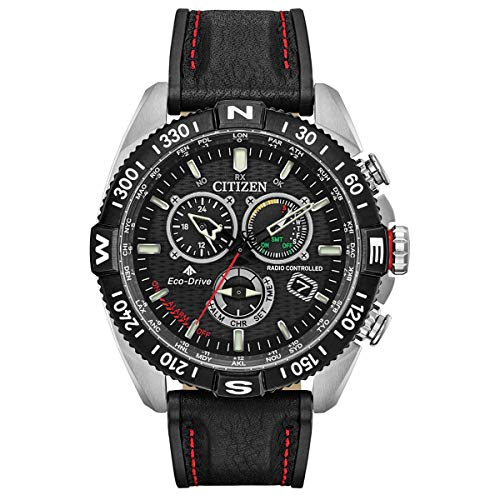 CITIZEN 腕時計 NAVIHAWK A-T ECO-DRIVE ナビホーク エコドライブ 電波時計 JY8030-83E