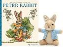 """ガンド ぬいぐるみ リアル お世話 かわいい 【送料無料】GUND Classic Peter Rabbit Plush 5"""" Miniature Beanie Toy Collection (Book Gift Set)ガンド ぬいぐるみ リアル お世話 かわいい"""