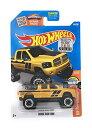 ホットウィール マテル ミニカー ホットウイール 【送料無料】Hot Wheels, 2016 HW Hot Trucks, Dodge Ram 1500 [Yellow] #144/250ホットウィール マテル ミニカー ホットウイール