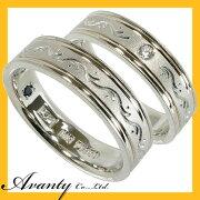 【ランキング1位】2本セット プラチナマリッジリング結婚指輪 プラチナ950(Pt950)/K18【刻印無料】