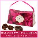【シーキューブ-C3-】焼きショコラティラミス 6コ入り<バレンタインパッケージ>《ギフト・贈り物・プレゼント》