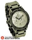 ニクソン A037486 THE 42-20 CHRONO NIXON 腕時計 ガンメタル×ホワイト 白【着後レビューを書いて1000円OFFクーポンGET】